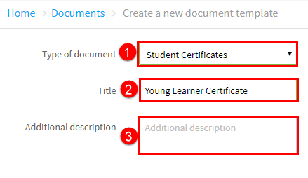 new document template